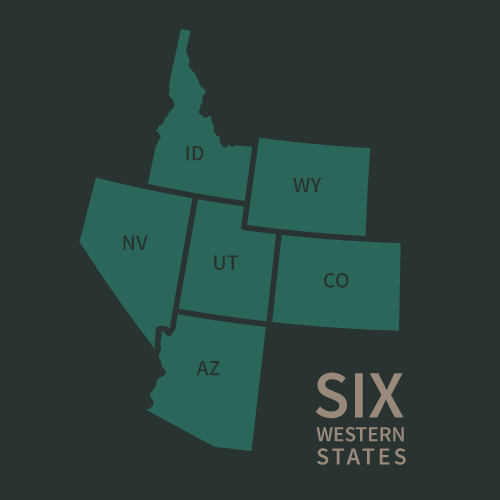 6 Wester States