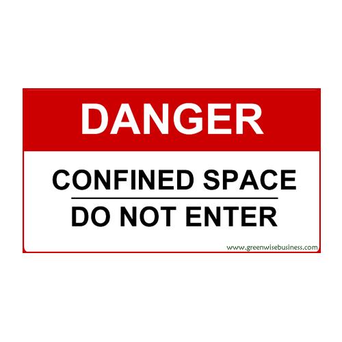 Danger Sign Small