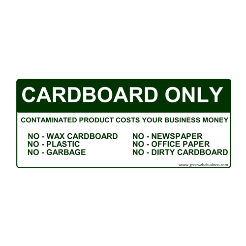 Cardboard Only Small